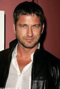 gerard butler. ...always will be Jamie Fraser to me :)