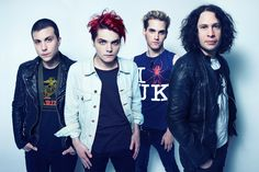 my chemical romance will always be one of my favorite-bands.  they were really good and i still love the music.  they are just... boom. :D <3