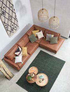 Living Room Green, New Living Room, Living Room Modern, Living Room Sofa, Stone Tile Flooring, Home 21, Home Decor Inspiration, Interior Design Living Room, Furniture Design