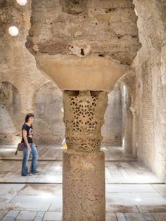 Baño árabe El Bañuelo en Granada