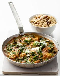 5:2 Diet - Monkfish curry Must tried this one next!