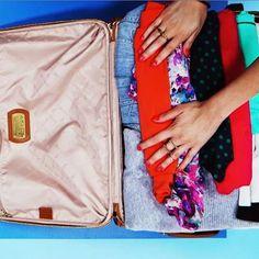 Dicas para organizar melhor sua mala de viagem