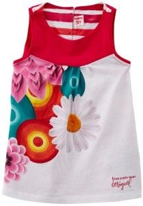 Beautiful summer Dress! I have to get one for my little princess.  :) Desigual Baby Girls 0-24M Vest_Rayas Dress, Multicoloured (Azalea), 3-6 Months (Manufacturer Size:6)