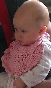 Ravelry: Round Baby Bib pattern by Sonea Delvon