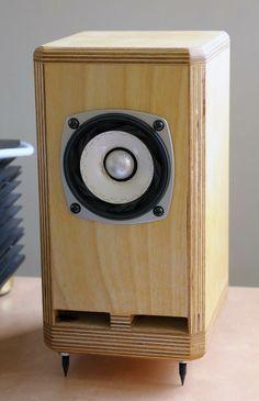 Ply #Wood Design #speaker #audio