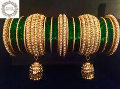 Bridal Bangles, Bridal Jewelry, Stylish Jewelry, Fashion Jewelry, Chuda Bangles, Indian Wedding Jewelry, Indian Bridal, Princess Jewelry, New Jewellery Design