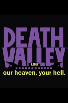 Geaux Tigers!! I want this printed and framed.