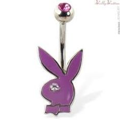 Playboy Bellybutton ring! Love!<3
