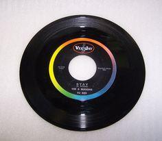 The 4 Seasons Goodnight My Love Stay  45 RPM Record Vee Jay Records VJ 582