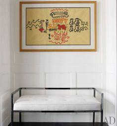Brooke Shields-Keith Haring