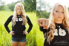 Sarah Modene Photography » Toledo's Senior Fashion Photographer #sports #seniorpose #senior soccer pose
