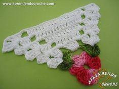 Love Crochet, Crochet Flowers, Crochet Hats, Crochet Coaster Pattern, Crochet Patterns, Woolen Craft, Crochet Triangle, Baby Cardigan, Filet Crochet