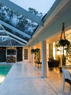 Patio, pool and lanai decor ideas on a budget-outdoor lights
