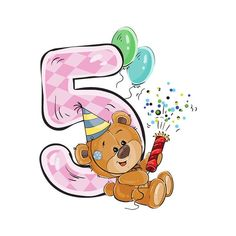 Для деток Birthday Wishes For Kids, First Birthday Photos, Happy Birthday, Funny Baby Memes, Canson, Birthday Clipart, Birthday Numbers, Cute Teddy Bears, Tatty Teddy