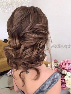 Half-updo, Braids, Chongos Updo Wedding Hairstyles | Deer Pearl Flowers