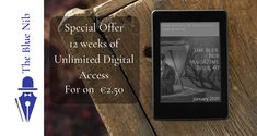 3 Months Unlimited Access for just Writers And Poets, Digital Magazine, 3 Months