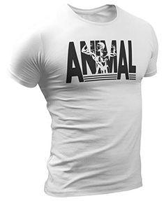t-Shirt Allenamento Bodybuilding Calisthenics Fitness Idea Regalo Sportivo IDEAMAGLIETTA Maglia Palestra Uomo Animal Maglietta Crossfit