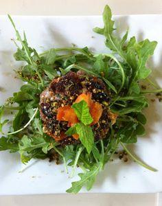 Jens Gone Paleo: Lamb Burgers w/Apricot, Mint, and Pistachios (Feta Optional)