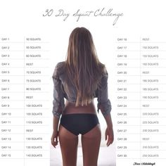 30 days for great butt!
