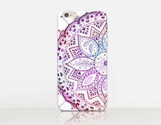 Mandala Phone Case For  iPhone 6 Case  iPhone 5 Case  by CRCases