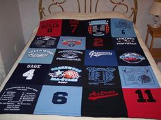 Someday (when/if I decide I'm too old to wear t-shirts all the time) I'll make a quilt out of all my New Orleans t-shirts.