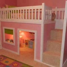 When i have a little girl i am going to give her this room and she can keep it till she moves out! I will just replace some things!