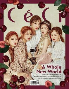 Red Velvet go for a Victorian look for 'CeCi' cover | allkpop.com