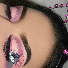 [New] The Best Eye Makeup Ideas Today (with Pictures) - These are the best eye makeup ideas today (with pictures). According to eye makeup. Makeup Eye Looks, Eye Makeup Art, Crazy Makeup, Cute Makeup, Gorgeous Makeup, Pretty Makeup, Skin Makeup, Eyeshadow Makeup, Crazy Eyeshadow