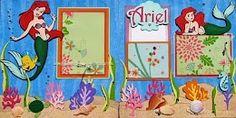 disney scrapbook page ideas | Disney Ariel Scrapbook page | MiCKeY ScRaP IDeaS