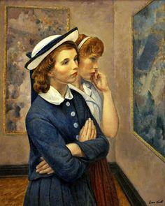Abraham Leon Kroll (American artist, 1884–1974) - At the Exhibition