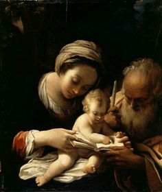 Bartolomeo Schedoni | The Holy Family | L900 | The National Gallery, London