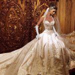 Stylish Long Wedding Dresses For 2015