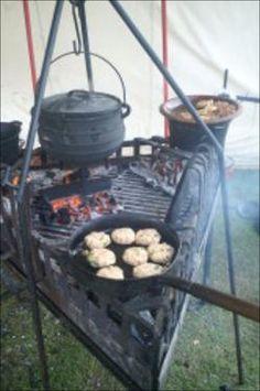 Medieval camp kitchen