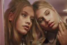 """Who better to recreate the iconic aura of Valley of the Dolls, than a pair of eerily similar, scary beautiful young models like Meredith Mickelson and Chase Carter? """"They reminded me of each other and when I asked if Meredith knew Chase she squealed with delight,"""" says stylist Solange Franklin about..."""