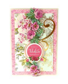 Anna Griffin® Birthday Bouquet 3D Sticker Kit