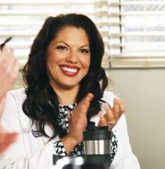 Sara Ramirez in if then on Greys Greys Anatomy Callie, Watch Greys Anatomy, Grey's Anatomy, Greys Anatomy Characters, Callie Torres, Jessica Capshaw, Still Love Her, Her Smile, Beautiful People
