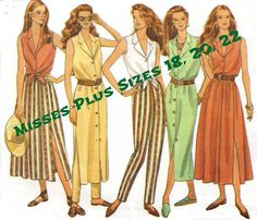 Uncut PLUS SIZE Sewing Pattern  Fast and Easy by KeepsakesStudio