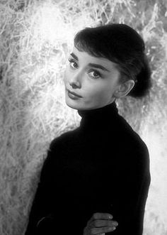 Audrey Hepburn photographed by George Daniell in Italy, 1955