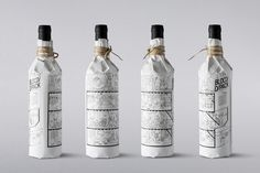 BLOCD Illustrated Wine on Packaging of the World - Creative Package Design Gallery