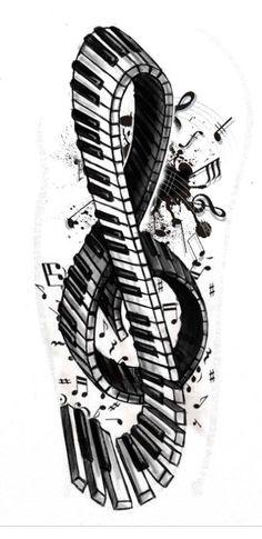 Music #MusicTattooIdeas