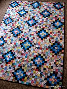 ScrapTastic Quilt by Emily Carr