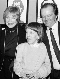 Linda Hunt with Shirley McClain and Jack Nicholson