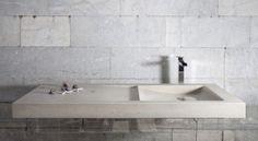 Onda Sink Creator: Sergio Devoti #TheVeroStone #Carrara #Marble #Stone #Sink