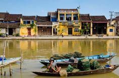 Thu Bon River, Hoi An, Quang Nam Province, Vietnam