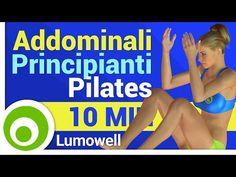 Addominali per Principianti - Esercizi di Pilates - YouTube