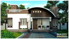 13 Bedroom House Plans Awesome Stylish 850 Square Feet Low Bud 2 Bedroom Home for 13 3 Best Small House Designs, Latest House Designs, Simple House Design, Modern House Design, Contemporary House Plans, Modern House Plans, Plans Loft, Bungalow, 2 Storey House Design
