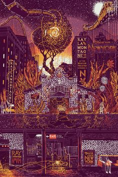 Poster by James R Eads Illustration