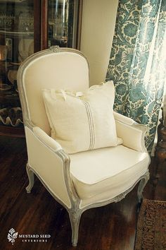 great French chair #Miss Mustard Seed