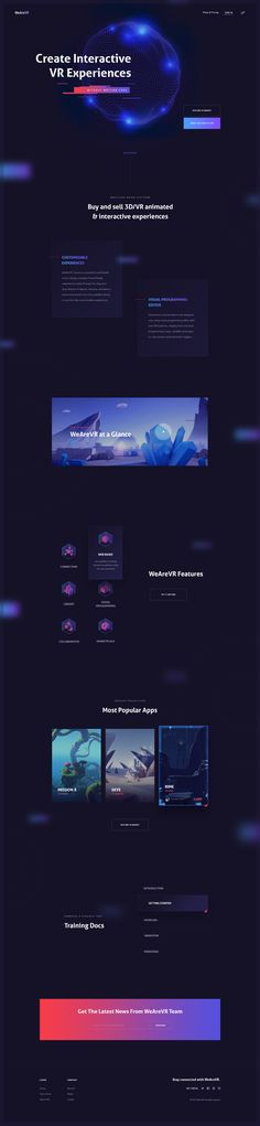 Wearevr homepage