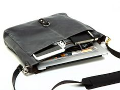 Walker Charcoal Wax Messenger